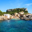 Villa on the coastline - Stock Photo