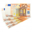 ������, ������: Fifty Euro banknotes