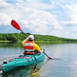 Canoeing — Stock Photo #24362175
