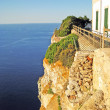 Stock Photo: Abyss at Cap de Formentor, Majorca
