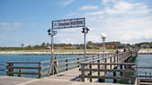 Wustrow pier — Stock Photo