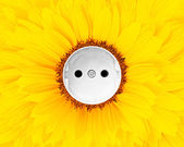 Sun energy — Stock Photo