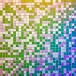 Mosaic tile wall, multicolored — Stock Photo #26723797