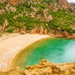 Spiaggia di Cala Li Cossi, Costa Paradiso — Stock Photo #26914519
