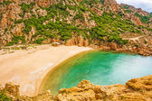 Spiaggia di Cala Li Cossi, Costa Paradiso — Stock Photo