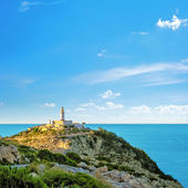 Lighthouse at Cap de Formentor, Majorca — Stock Photo