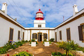 Lighthouse Ponta do Pargo — Stock Photo