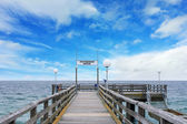 Ostseebad Rerik, pier — Stock Photo