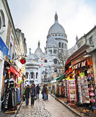 Sacre Couer  Montmartre — Stock Photo