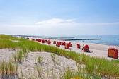 Ahrenshoop beach — Stock Photo