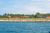 Wustrow beach — Zdjęcie stockowe