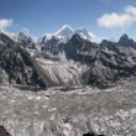 Himalaya-Everest-Panorama, Gokyo-See — Stockfoto