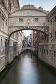 Ponte dei sospiri, palazzo ducale, ponte dei sospiri, venezia, it — Foto Stock
