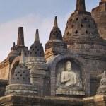 Buddha statute in buddhist temple — Stock Photo #45382031