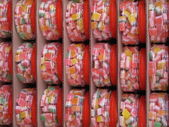 Stacks of jellied sweets — Stock Photo