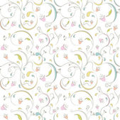 Pattern floral — Stock Photo