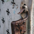The old lock — Stock Photo