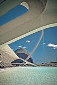 Modern curves in Valencia — Stock Photo