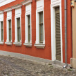 Typical European Alley in Szentendre Hungary — Stock Photo