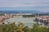 Budapest-stadtansicht — Stockfoto