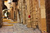 View of an Old Jaffa street, Israel — Stock Photo