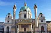 St. Peter's Church Peterskirche in Vienna, Austria — Stock Photo