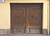 Antique door — Stock Photo