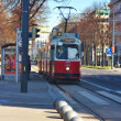 Tramway in Vienna — Stock Photo