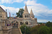Fisherman's Bastion, Budapest Hungary — Stock Photo