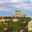 Stock Photo: View of Esztergom Basilicfrom Saint Thomas chapel hill, Hungary