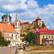 Stock Photo: View of Esztergom Basilica, Hungary