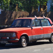 Stock Photo: Old Soviet car VAZ-2101 Zhiguli