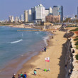 Stock Photo: View of Tel Aviv skyline from Jaffa