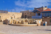 Tel Aviv Jaffa. Fountain of zodiac signs — Zdjęcie stockowe