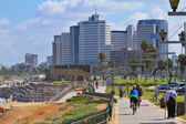 Tel Aviv coastline — Stock Photo