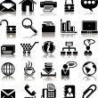 Royalty-Free Stock Vector Image: Set from 25 (twenty five) business icons