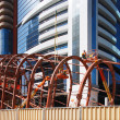 ������, ������: Bolting the steel together of the Dubai Metro Station