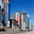 Stock Photo: Dubai was fastest developing city in world 2002 to 2008