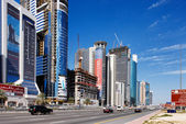 Dubai was the fastest developing city in the world 2002 to 2008 — Stock Photo