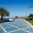 Stock Photo: Corniche promenade of Abu Dhabi
