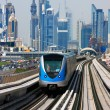 Stock Photo: Dubai Metro is becoming increasingly popular among expatriates traveling to and from work