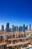 Downtown dubai est un quartier populaire et cher immobilier — Photo