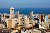 A skyline view of Kuwait City — Stock Photo