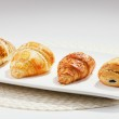 Постер, плакат: Croissants are typically served for breakfast