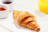 Croissants are typically served for breakfast — Stock Photo
