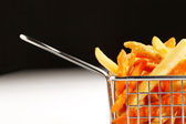 A beautiful detailed shot of Chips, also known as French Fries — Stock Photo