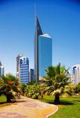 Modern architecture, Abu Dhabi, UAE — Stock Photo