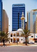Traditional Mosque, Abu Dhabi, UAE — Stock Photo
