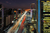 Abu Dhabi Rush Hour Traffic — Stock Photo
