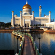 Sultan Omar Ali Saifuddien Mosque in Brunei — Stock Photo #21353821